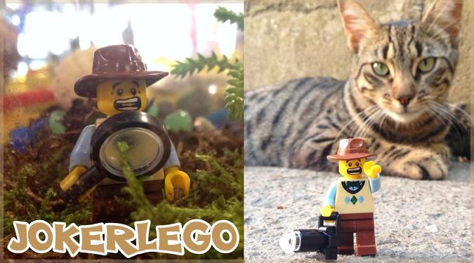 LEGOのミニフィグを使ったユニークな写真シリーズ!