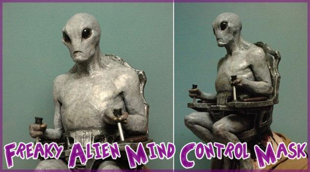 ハロウィンに最適の恐怖のエイリアンマスクが登場!