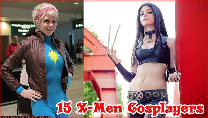 X-メンのキャラクターに扮したレイヤーさんたちの素晴らしいコスプレ集