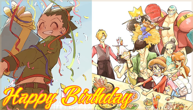 5月5日のこどもの日が誕生日のキャラクターを祝ったファンアート集!