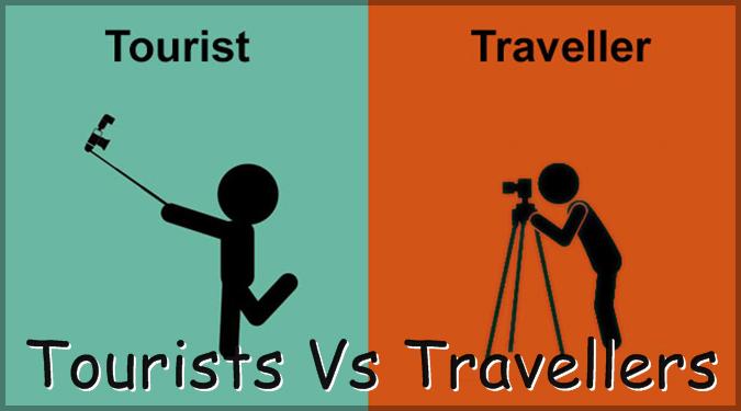 観光客と旅人の違いをミニマルなイラストで表した12枚の作品集!