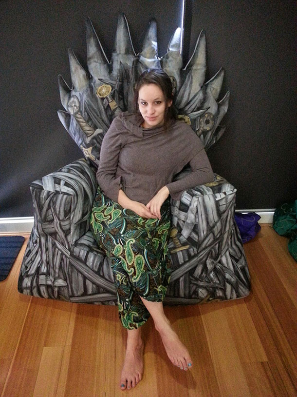 Homemade-Game-Of-Thrones-Iron-Throne-Beanbag