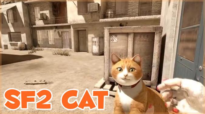 スペシャルフォース2に猫型の銃が登場!?リロードは撫で撫で?