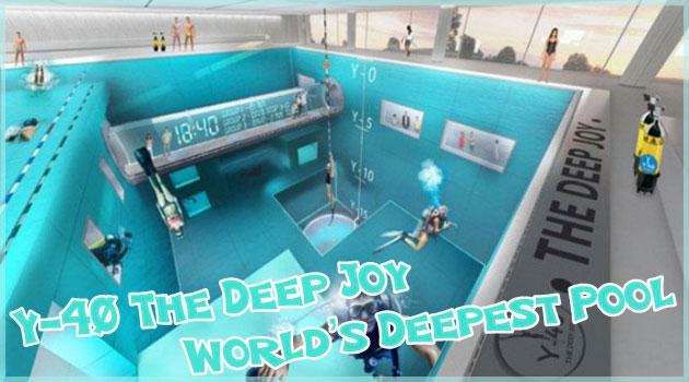 ダイビング初心者のために作られた世界で最も深いプール!