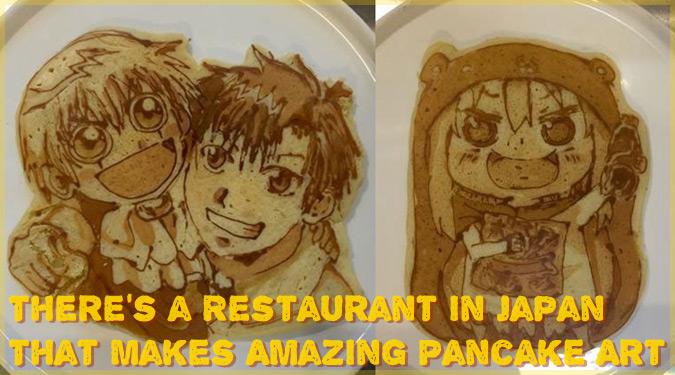 日本のイタリア料理店が作るパンケーキアートが海外で話題に!