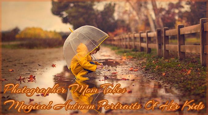 秋を楽しむ子どもの姿を撮影した優しくて温かい写真集