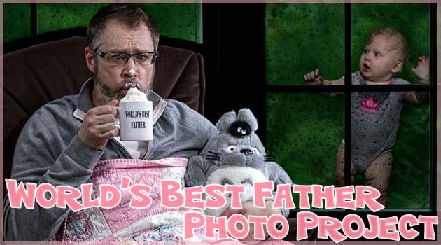 最高の父親が制作した心温まるユニークな親子の写真集