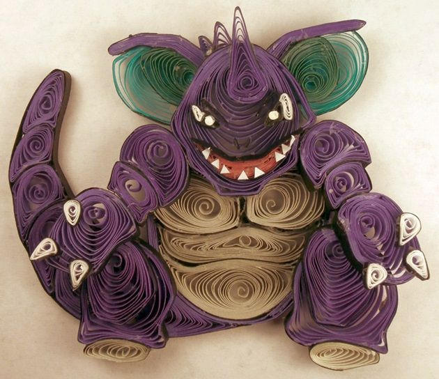 quilled-paper-pokemon-nidoking