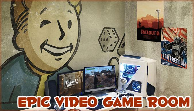 一度は憧れる!ゲーマーのための素晴らしくクールなゲームルーム集