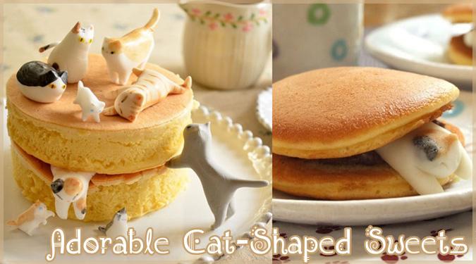 日本人ブロガーさんが作るネコをテーマにした可愛らしいお菓子が話題に!