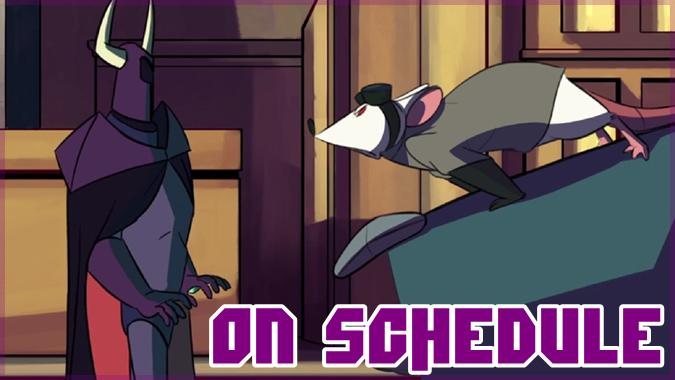 2人のヴィランを主役にした愉快な短編アニメーション「On Schedule」