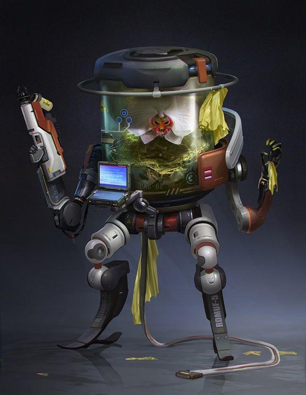 cyber-plant-sci-fi-art