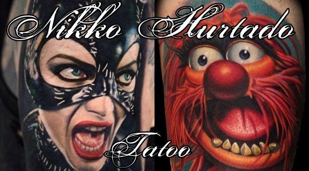 海外で絶賛中のリアル過ぎるキャラクタータトゥー!もはや芸術の域!