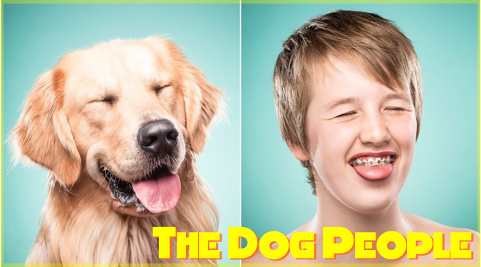 愛犬の表情をマネた飼い主たちのユニークな写真シリーズ!