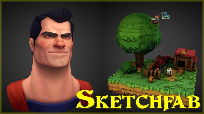3Dモデルを閲覧できる「Sketchfab」の10作品をピックアップ!