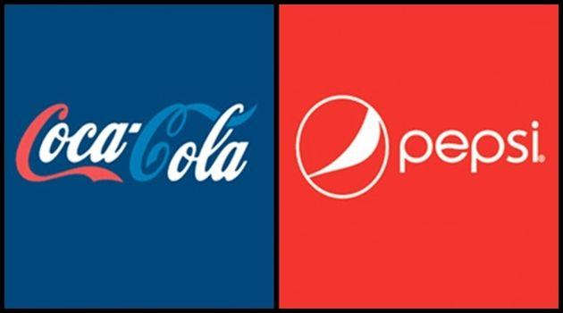 有名企業のロゴをライバル会社と組み合わせた不思議なデザイン