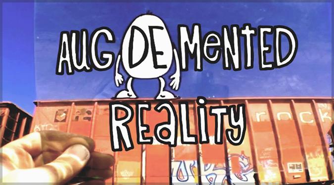 コミカルなキャラクターたちが現実世界で動き出す!キュートなアニメ作品