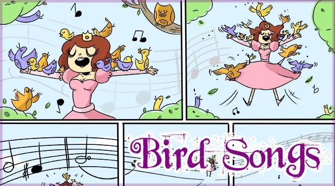 もしもプリンセスの歌声で集まった鳥たちが悪の手先だったら?