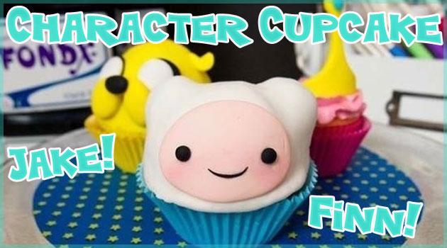 人気キャラクターを再現した可愛くて美味しそうなカップケーキ