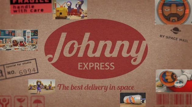 パッケージを配達する宇宙配達人ジョニーのアニメストーリー