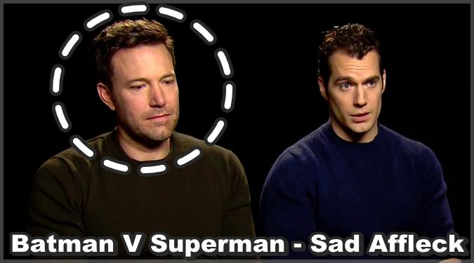 バットマンvsスーパーマンの評価を聞かされたベン・アフレックの様子が話題に