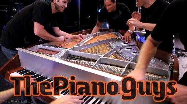 5人の男が一台のピアノで名曲を演奏!YouTubeで3250万再生