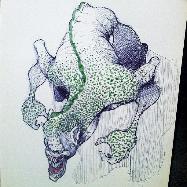 monstrous-alien-like-creature-sketchbook-drawing-3