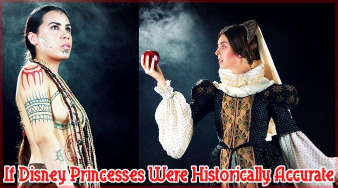 ディズニーのお姫様を歴史的な背景から正確に再現してみたら?