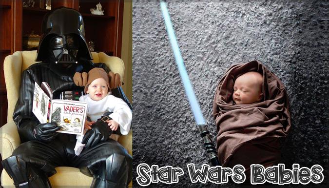 スターウォーズのコスプレをしたキュートな赤ちゃんたちの写真集
