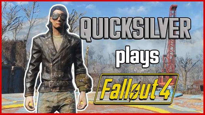 Fallout4でクイックシルバーの能力を体感できるクールなModが登場!