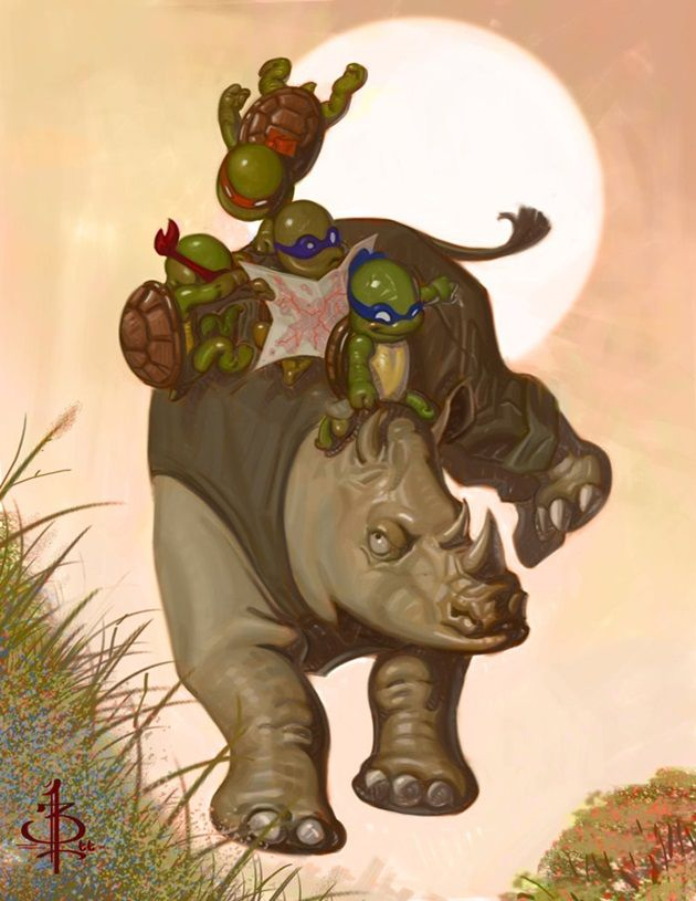 adorable-illustration-ninja-turtles-as-kids-4