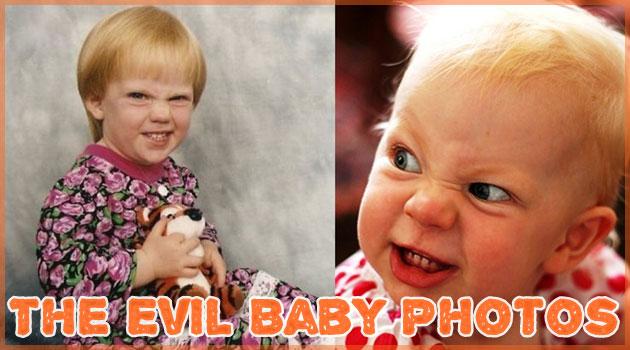 奇跡の表情をとらえた純粋で邪悪な赤ちゃんの写真集!