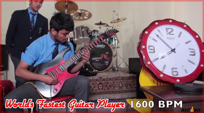 1600BPMで「熊蜂の飛行」を弾く世界最速のギタリストが誕生!