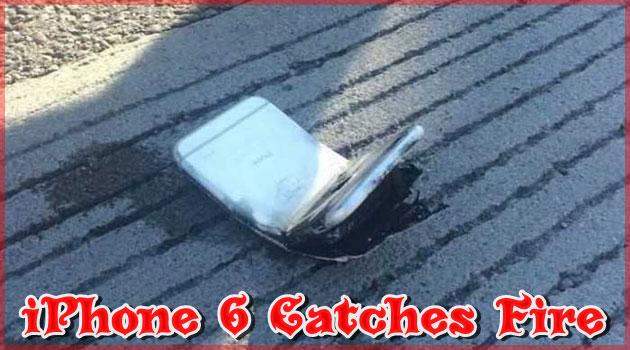 アメリカのアリゾナ州ツーソンでiPhone6が発火する事件が発生!