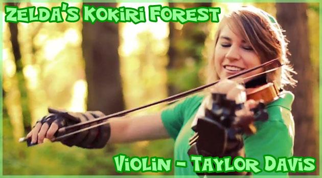 ゼルダの伝説のコキリの森をコスプレで演奏するバイオリニスト