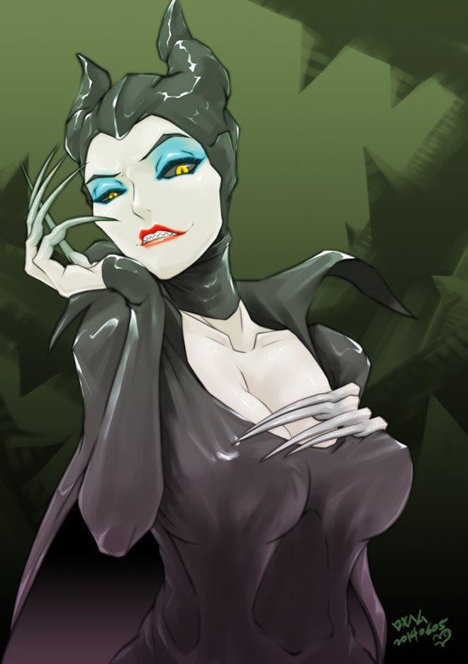マレフィセント 白雪姫