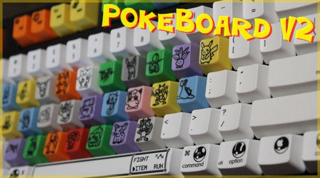 文字キーがポケモンのカスタムポケモンキーボードが登場!