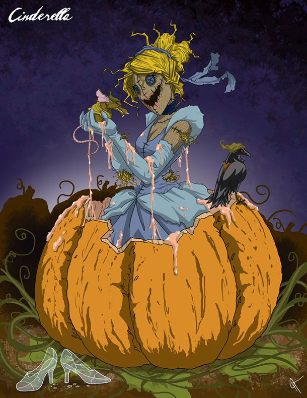 cinderella-as-horror-movie-character