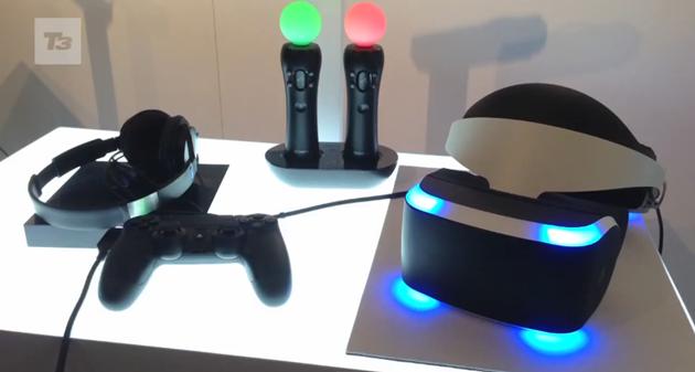 バーチャルリアリティヘッドセットを発表!仮想現実が楽しめる!?