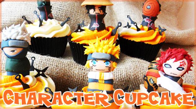 可愛いキャラクターをモチーフにした世界のカップケーキ集