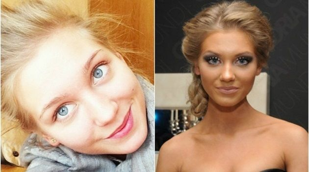 ロシア人セレブたちのすっぴん!ロシアの女優や歌手の素顔