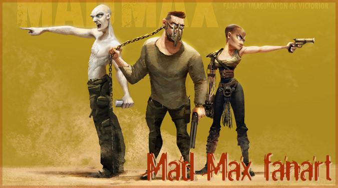 アーティストによるマッドマックス4のクールなファンアート作品!