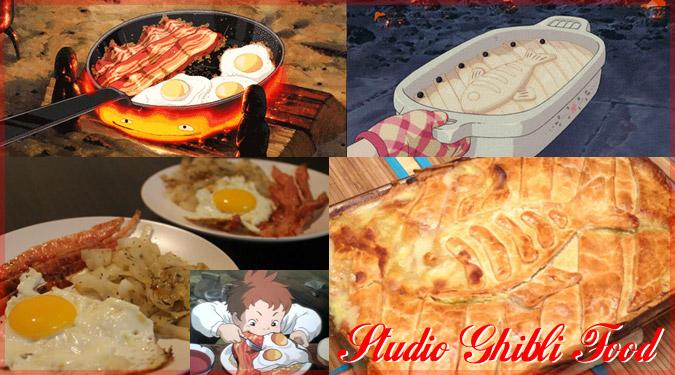 スタジオジブリの宮崎映画に出てくる美味しそうなお料理集!