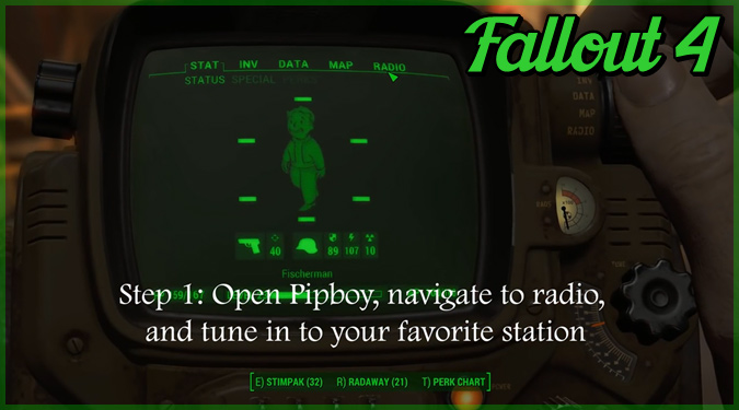 Fallout4で絶体絶命の状況に陥ったときのクールな脱出方法!