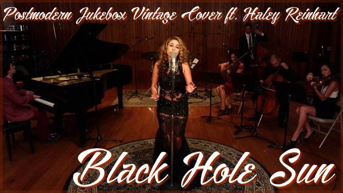 サウンドガーデンのブラック・ホール・サンをジャズ風にアレンジした演奏!