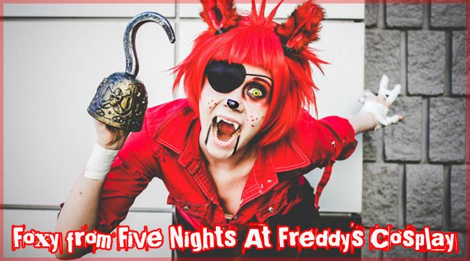 Five Nights at Freddy'sのフォクシーのコスプレが登場!