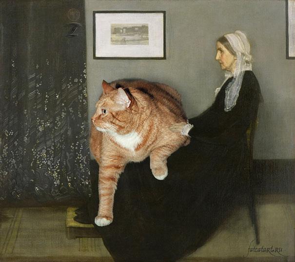 funny-fat-cat-old-paintings-zarathustra-svetlana-petrova-9