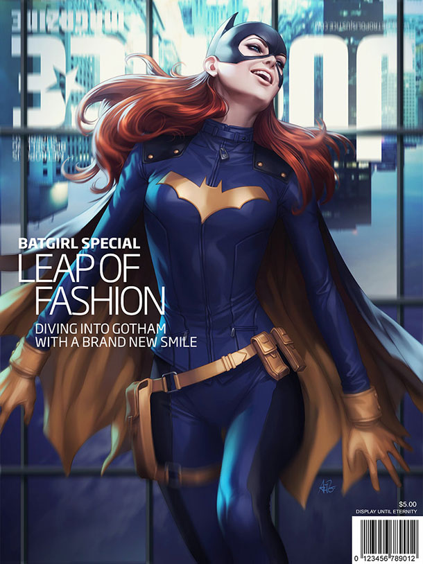 batgirl_justice_magazine_by_artgerm-d7qrots