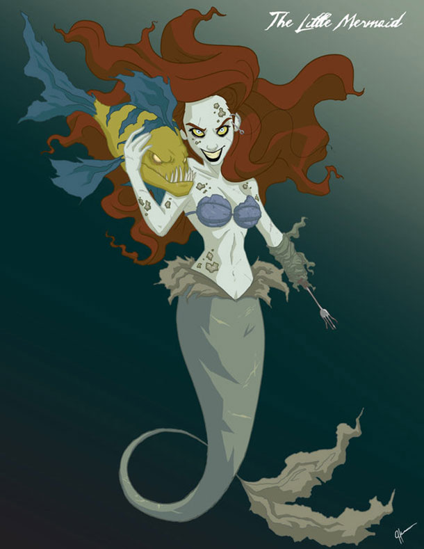 ariel-as-horror-movie-character