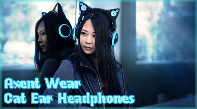 Axent社の魅力的なネコミミヘッドフォンが可愛すぎると話題!